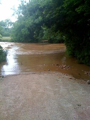 Garrison Rd Flood