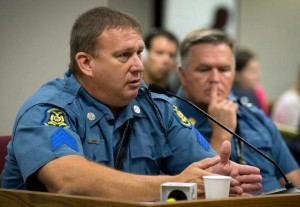 Henry testifies last year in a Missouri House Committee.  Photo courtesy of the Kansas City Star.
