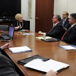 Area Educators Meet with McCaskill